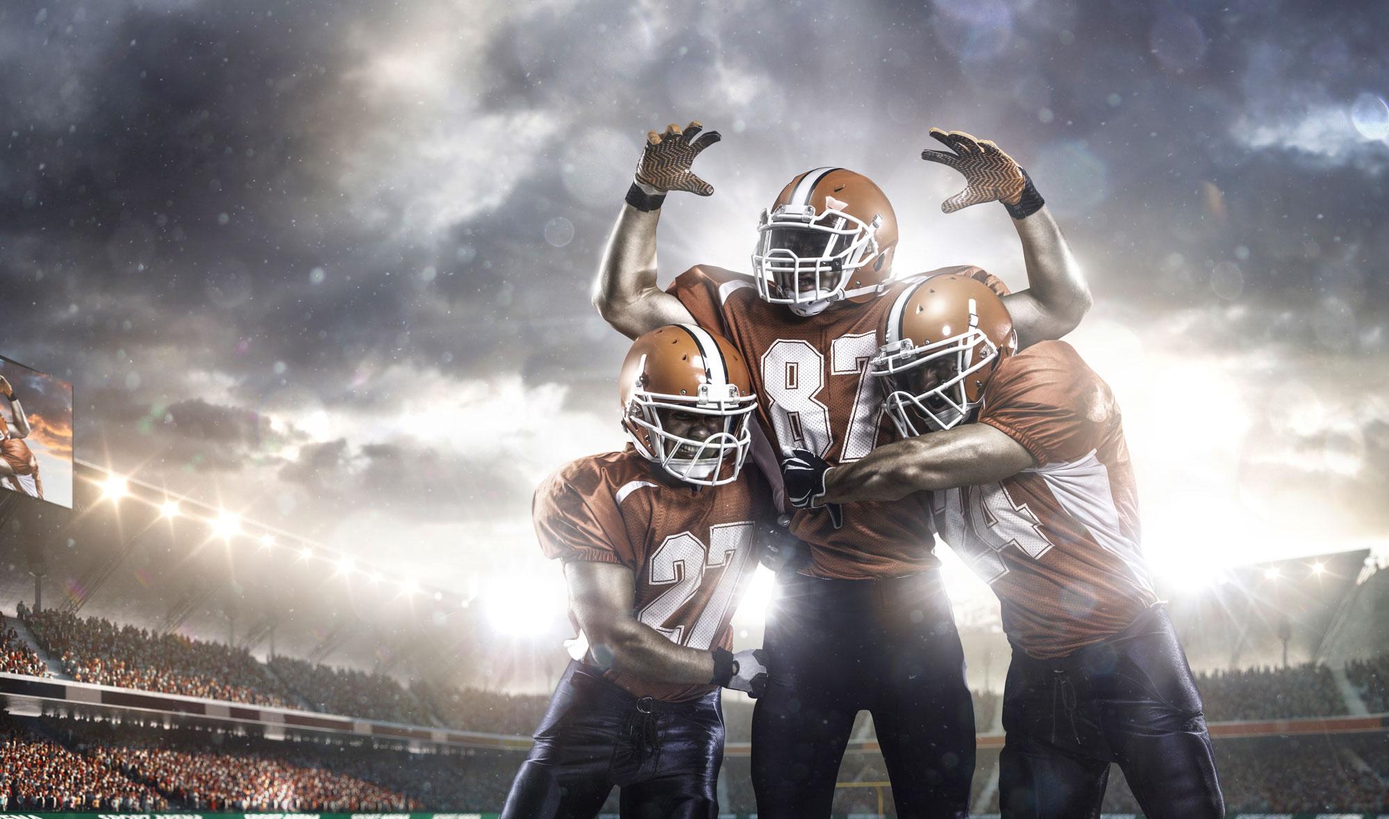 Abbildung American Football Mannschaft